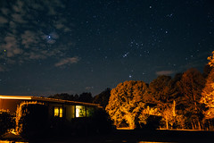 Stars Over Home (MikeyMcInnis) Tags: walker county alabama jasper duncan bridge night photography stars astrology southern alone peace sky old america barn house canon