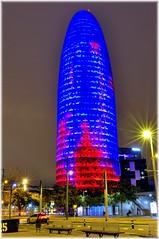 (j.c peaguda) Tags: barcelona torre agbar torreagbar nocturna