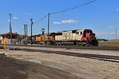 Good Times at B17 (BravoDelta1999) Tags: sooline soo railroad canadianpacific cp rail milwaukeeroad milw railway cmsubdivision tower b17 interlocking bensenville illinois emd sd60 6027 470 manifest train