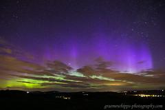 Rays in sunlight (quayman) Tags: aurora northernlights merrydancers blue violet rays night sky garioch chapelofgarioch aberdeenshire scotland