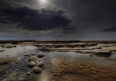 """ ETHEREAL SEASCAPE "" (Wiffsmiff23) Tags: traeth beach heritagecoastlinesouthwales ethereal southwales nashpoint sand pebbles rocks drama dramatic"