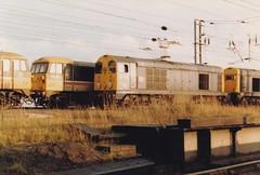 86437 20128 Warrington Bank Quay 28th October 1986 (Skelton80s) Tags: 86437 20128 warrington bank quay 28th october 1986