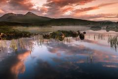 Refections on Rannoch Moor (devlin11) Tags: glencoe reflection rannoch morning magic mountains mountain mystic scotland scenery sunrise nikon landscape tranquil