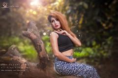 Zerin Khan (ClicK & ReeL Photography) Tags: landsape outdoor model hot sexy sun shoot bookeh