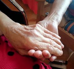 DAS ALTER  ( THE AGE ) (Fimeli) Tags: age mensch hände human