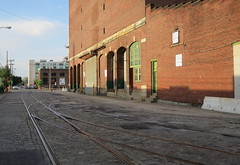 Philadelphia Front St 1 (jsmatlak) Tags: philadelphia industrial warehouse freight railroad spur siding train canal front street trackage