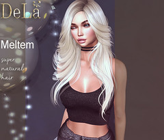 """=DeLa*= new hair """"Meltem"""" (=DeLa*=) Tags: dela hair fitted rigged mesh materials sl slhair secondlife secondlifefashion style new"""