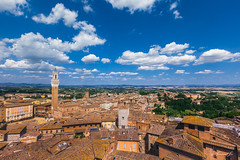 Piazza del Campo, seen from the Facciatone (Susanna Siu) Tags: travel traveleurope travelitaly canon5dmarkll canonef1635mmf28liiusm canon siena