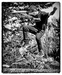 Urban Action (Andy J Newman) Tags: silverefex youth action jump nikon praha d500 street skate board letna skateboard trick candid urban prague czechia cz