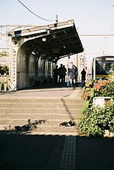 鶴見線扇町駅 (tripl8_i) Tags: minolta af 50mm 17 α7 駅 station kawasaki 川崎 ミノルタ 猫 鶴見線