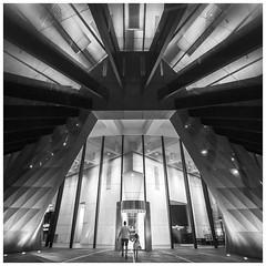 Brisbane street photography - Entering fairytale (Jaka Pirš Hanžič) Tags: contrast brisbane street building architecture urban night lights fairytale people queensland qld australia abstract
