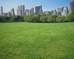 Sheep Meadow Central Park NYC (Scott Yeckes) Tags: grass green landscape nyc nature newyork places sheepmeadow sheepmeadownyc buildings centralpark centralparknyc cityscape manhattan morning skyline trees uppereastside