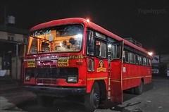 Queen of Murtizapur (yogeshyp) Tags: msrtc maharashtrastatetransport msrtcparivartanbus murtizapurdepotbus