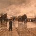 LOIR Luigi,1879 - Un Coin de Bercy pendant l'Inondation (Carnavalet) - Détail 08