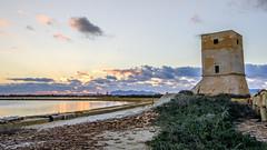 torre di Nubia - Trapani - Italy (I. Bellomo) Tags: favignana sale saline trapani bellomo fujifilm paceco mare tramonto torre sicilia italia