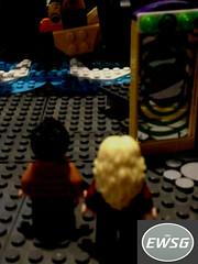 EWSG Superboy/Supergirl Volume 2, Issue 7: First Date (RogueTitan) Tags: ewsg superboysupergirl superboy supergirl volume 2 issue 7 first date lego purist dc