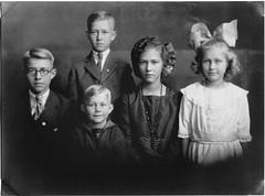 children of George and Bessie Husband - restored