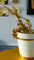 rameaux (3) (canecrabe) Tags: palme rameau rameaux pot lait laiterie rambouillet chèvre louisxvi tradition seau marieantoinette tresse espagne ubeda nice