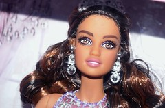 Quinceanera Barbie 2017 (farmspeedracer) Tags: doll toy playline collector barbie teresa birthday mexico tradition celebration purple nrfb