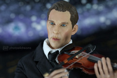 playing his own composition (photos4dreams) Tags: theviolinp4d benedictisthatyoup4d benedict isthatyoup4d sherlock toy spielzeug sherlockholmes benedictcumberbatch bbc crime scene photos4dreams p4d photos4dreamz drwatson series serie actionfigure 16 sixthscale drstrange doctor