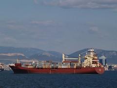 'Sirius' container ship, Gulf of Izmir, Turkey (Steve Hobson) Tags: container ship gulf izmir turkey sirius
