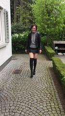 IMG_7486 (valkex1) Tags: leather mini skirt otk boots