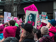 IMG_0328 (justine warrington) Tags: womens march womensmarch womensmarchonwashington washington pink pussy hats pinkpussyhat protest signs trump 45th presidential election january 21st 2017 potus resist resistance is fertile wethepeople