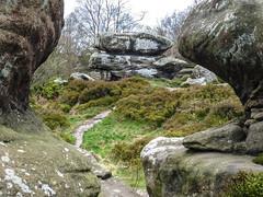 Curved view (Explored 15 April 2017) (Nigel L Baker) Tags: brimham rocks yorkshire england mystical