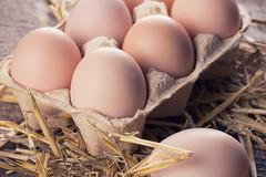 chicken-eggs-on-wood (Farm Fresh To You -) Tags: eggcarton eggs
