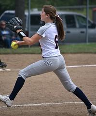 Girls Softball Pitcher (swong95765) Tags: woman female lady sport pitcher softball windup strong