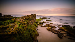 The path to follow. (R*Pacoma) Tags: windanseabeach sandiego california lajolla longexposure nd1000 ice ocean sea water sand landscape seascape sky rocks