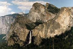Yosemite Falls 941 (Bill in DC) Tags: ca california 1991 film canon eos660 kodacolor smp3 yosemite yosemitenationalpark