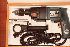 1980s AEG Power Drill (RS 1990) Tags: 1980s aeg powertool drill kit australia new