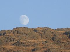 Moon rising over the fells (Chris Royle2) Tags: lakedistrict moonrise moon