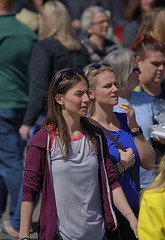 Crowd (swong95765) Tags: crowded crowd people women female ladies bokeh density