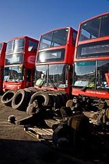 Miller Street, Birmingham, January 2017 (David Rostance) Tags: birmingham bus nxwm millerstreet 4191 dennistrident alexander alx400 y796toh 4079 volvob7tl plaxtonpresident v79moa 4072 v72moa