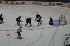 Ice hockey match Russia-USA at the Spiš Arena, Spišska Nová Ves (Timon91) Tags: slovakia slowakije slowakei slovenskárepublika slovensko spoor spoorweg spoorwegen