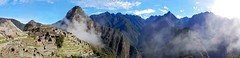 Machu Picchu Panorama bei Sonnenschein