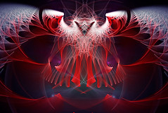 Abyss Creature (Luc H.) Tags: abyss abstract fractal graphic graphism digital