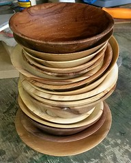 stack of bowls (turningwood1881) Tags: 2016 projects