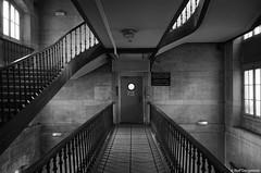 The Door (stef demeester (catching up)) Tags: hôpitaldelhoteldieu stefdemeester pentax k5ii paris stairs indoors hospitalflickrfranceparis