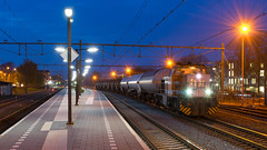Locon 1796 met buurtgoederentrein te Meppel, 18-04-2017 (Pieter Plas) Tags: mp 50599 61300 on dz rd locon 1796 asn hgv