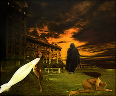 Leaving Sodom behind (bdira3) Tags: surreal doomed dying sodom fire sinners textured
