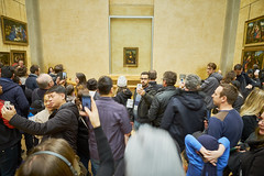 Mona who? (aylmerqc) Tags: paris france muséedulouvre thelouvre louvre gallery museum art beauxarts
