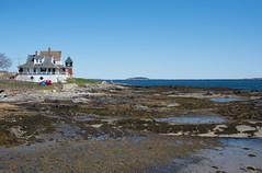 bailey island maine-10 (heather morris photography) Tags: maine coastalmaine newengland outmywindow ocean atlantic water coastline rocks beach spring