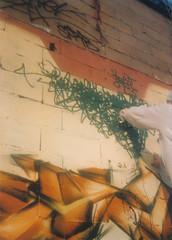 Jade en Action (Bombardeur) Tags: tag fond fresque jade hauteur route plan légal graffiti