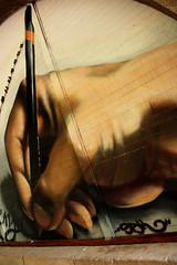 mini_new_007 (Pablo Alvarez Corredera) Tags: urbano arte graffiti oviedo uvieu lapiz mano escritura lagrimas lagrima tristeza cara lapicero carne