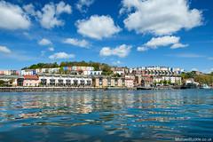 Bristol Harbourside Sunshine (Michael Buckle (MichaelBuckle.co.uk)) Tags: bristol harbourside cliftonwood