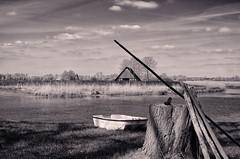 Colorless (detlefgabriel17) Tags: fluss river landschaft landscape riveroste osteniedersachsen niedersachsen lowersaxony bw blackandwhite schwarzweiss