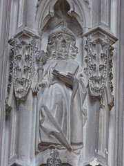 St James (Aidan McRae Thomson) Tags: worcester cathedral worcestershire medieval carving statue sculpture